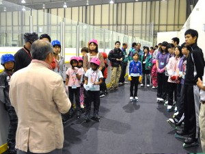 2011年 夏休みスケート教室 開会式