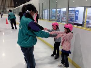 2013鳥取スケート教室 足踏み
