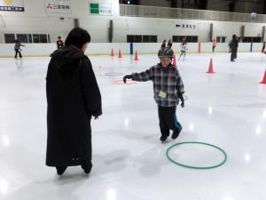 2012鳥取スケート教室 ターン練習