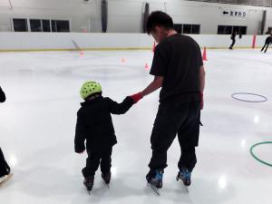 2013鳥取スケート教室 少しずつ