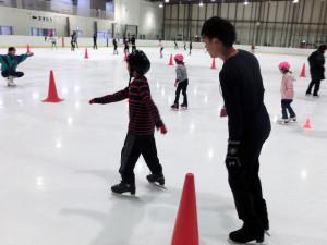 2013鳥取スケート教室 マンツーマン