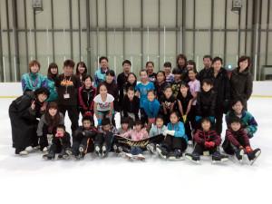 2013鳥取スケート教室 記念撮影1