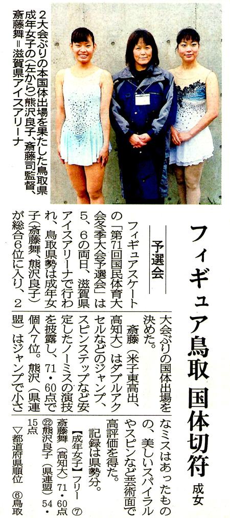 日本海新聞 2015.12.08