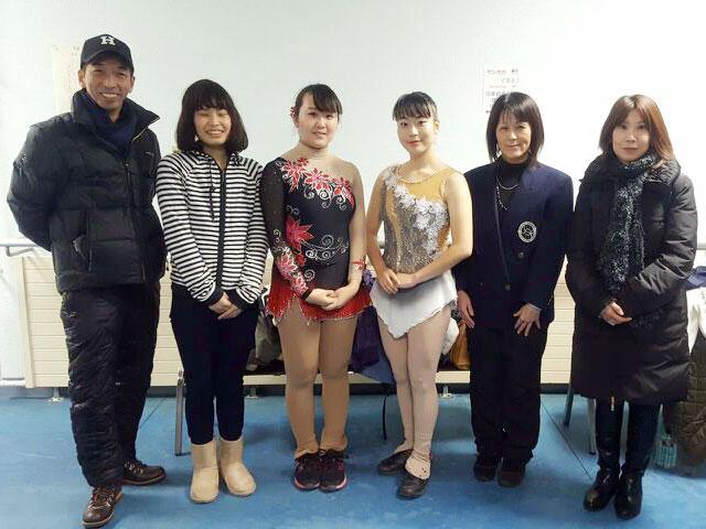2016冬季国体フィギュア成年女子 鳥取チーム