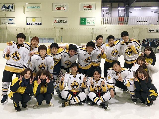 第34回 中国新聞社杯 中四国学生アイスホッケー大会・リーグ戦