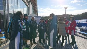 富士の国やまなし国体 スピードスケート成年男子 塚田悠選手