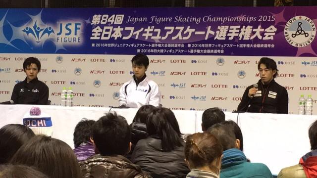 第84回 全日本フィギュアスケート選手権大会 無良崇人インタビュー