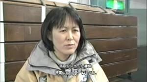 一緒に子ども達の指導をしている・鳥取県スケート連盟理事・斎藤司さん
